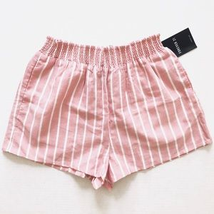 🎉 2 for $10! Forever 21 Pink Striped Shorts